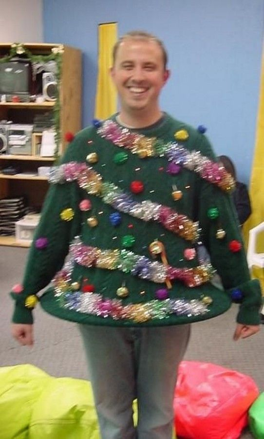 Christmas Jumper Party Ideas Part - 43: Ultimate Diy Ugly Sweater | 26 Easy DIY Ugly Christmas Sweater Ideas