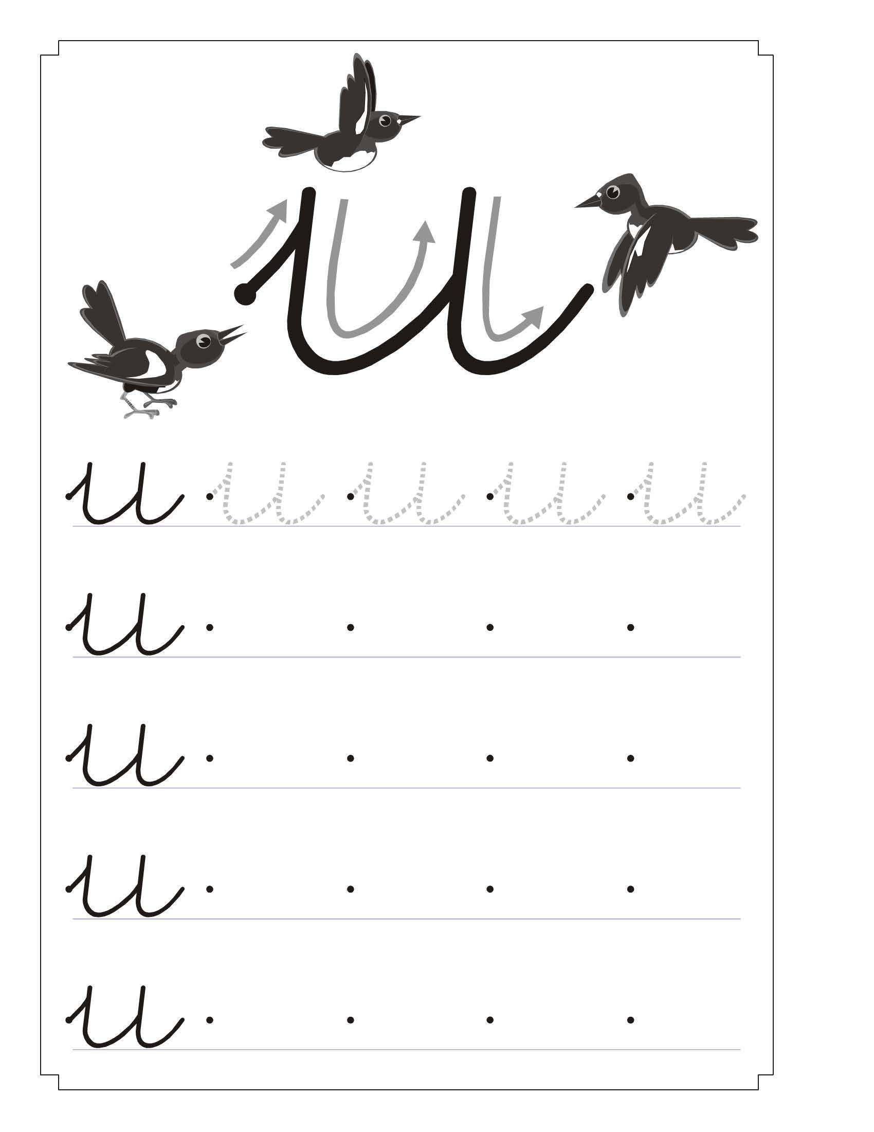 letra u 4   páginas para colorear   Pinterest   Letras, Los vocales ...