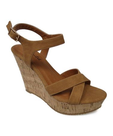 53fd9cd88c8 Loving this Tan Tracie Sandal on  zulily!  zulilyfinds