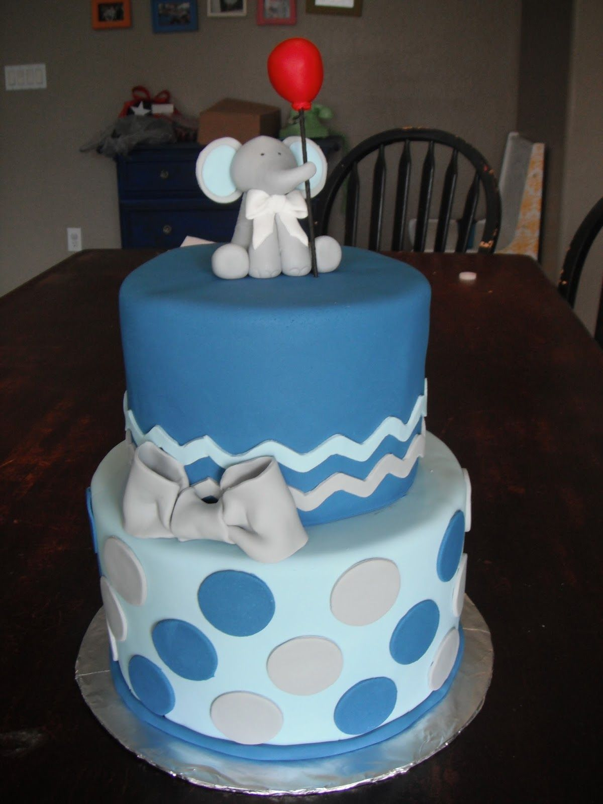 glamorous baby elephant baby shower cake elephant baby shower cake
