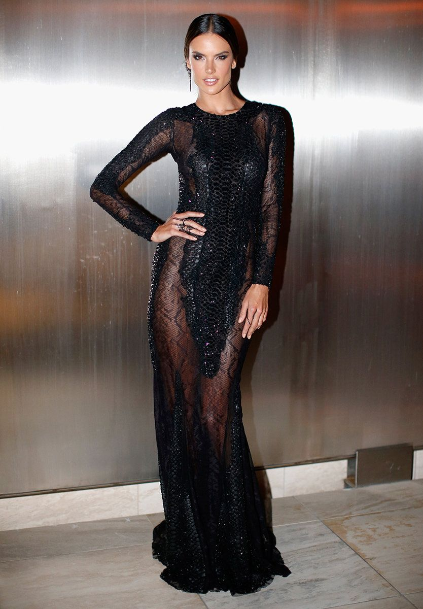 Alessandra Ambrosio, Zuhair Murad, Tom Ford party 2015