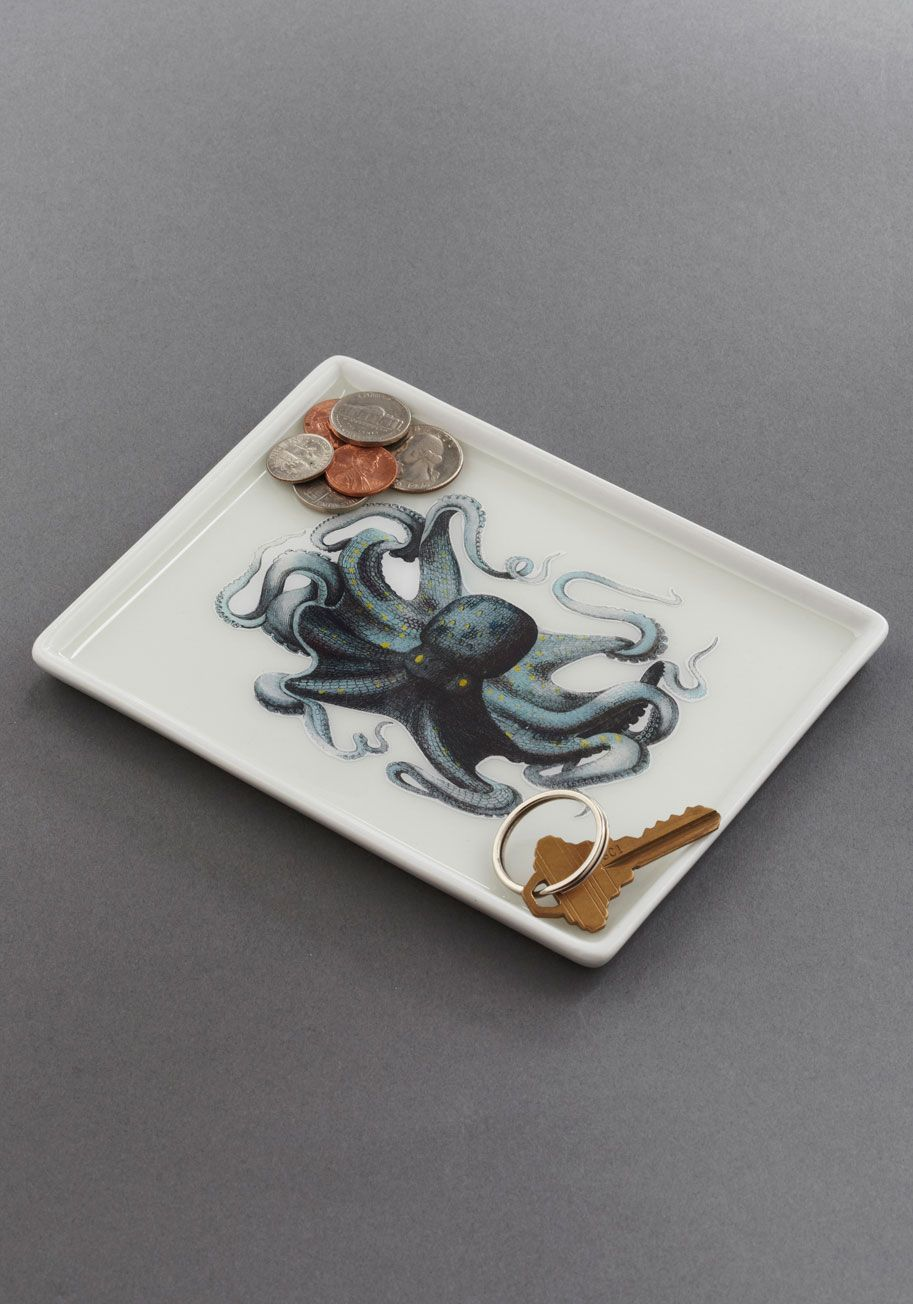 Thalassic Park Tray in Octopus