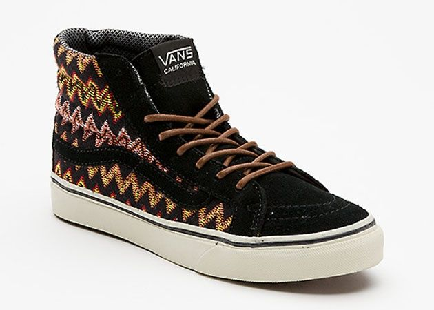 7b3494a6db Trendy Womens Sneakers 2017  2018   Vans California Sk8-Hi Slim Zig Zag  Pack (Holiday 2012)