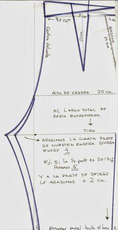 Patrón Pantalón De Señora Patrón De Pantalones Patrones De Costura Patrones