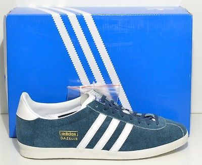 separation shoes de68c df39e ADIDAS GAZELLE OG - Original - verde petrolio - Mis  FR 42 2 3- US 9 - J 270
