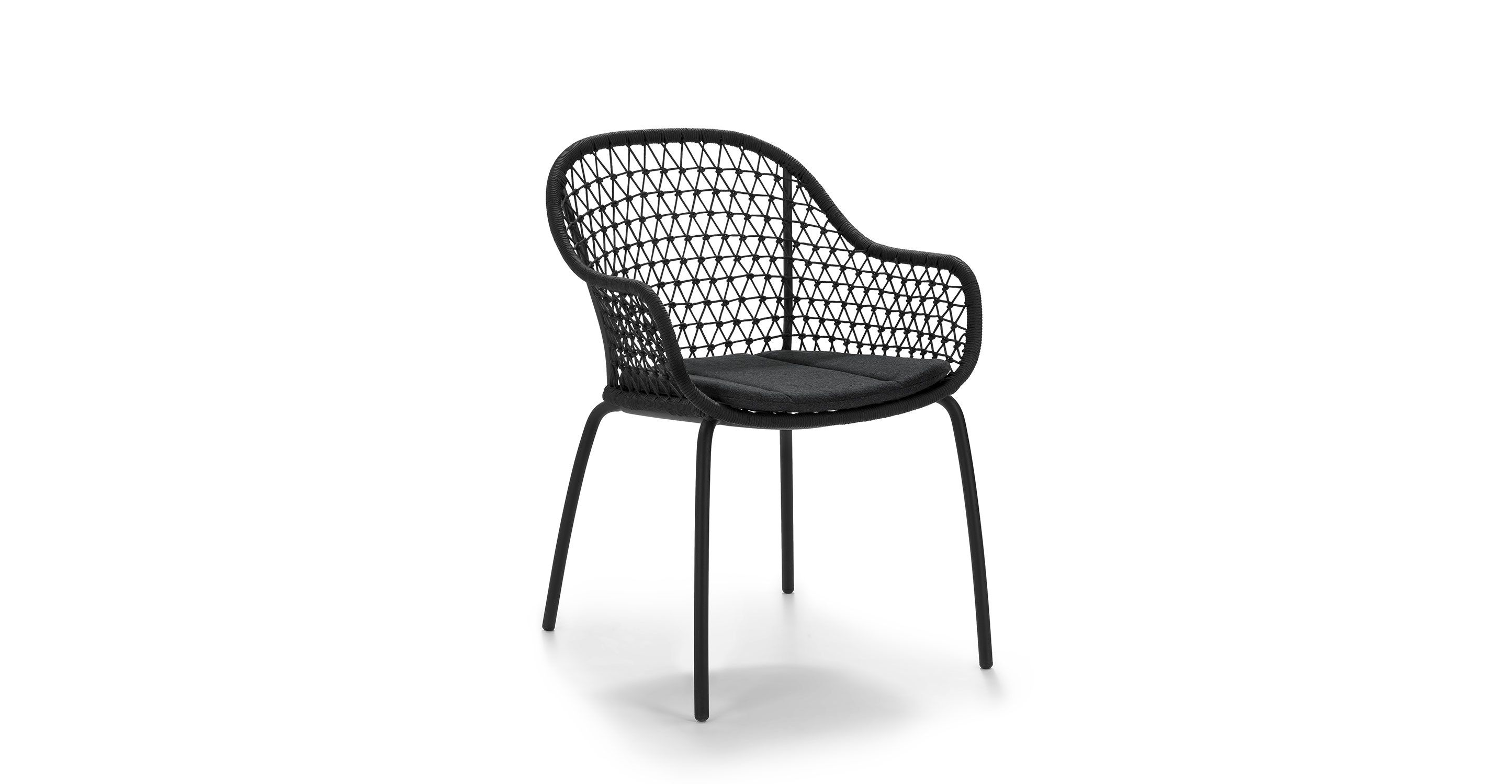 Cool Sylva Graphite Black Dining Chair Patio 71 Black Dining Gmtry Best Dining Table And Chair Ideas Images Gmtryco