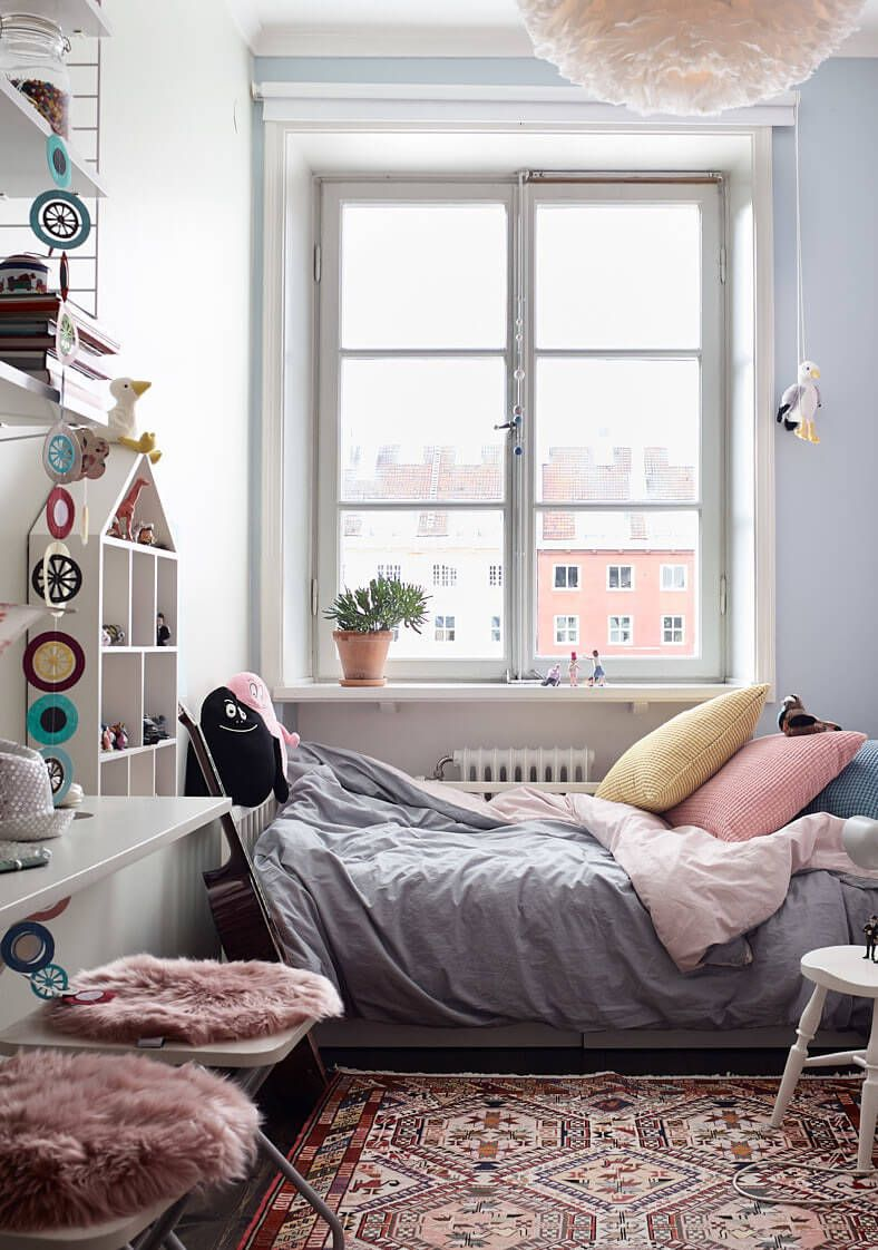 A Small And Cosy Family Apartment In Stockholm Paul Paula Small Kids Room Small Room Design Bedroom Design Small floorspace kids rooms