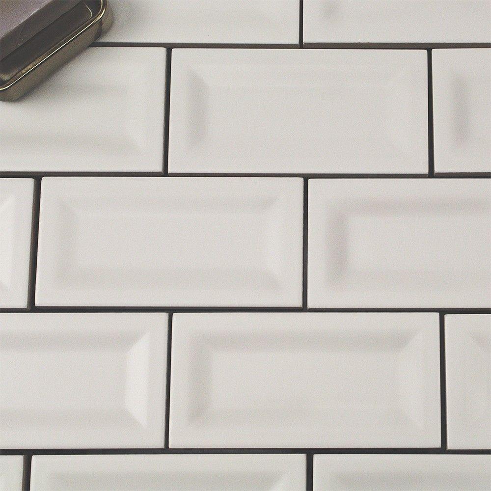 Basic white 3x6 inverted matte ceramic tile tilebar small basic white 3x6 inverted matte ceramic tile tilebar dailygadgetfo Choice Image