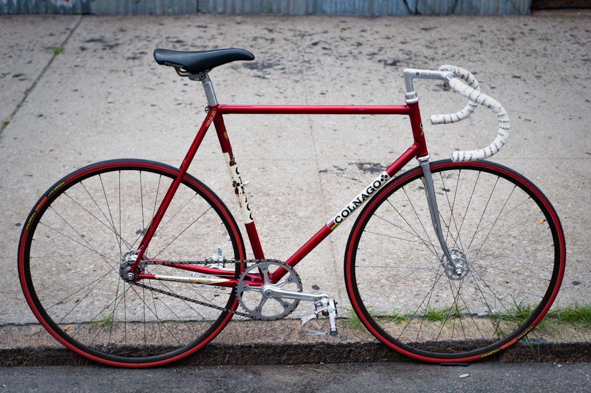 1983 colnago super pista beautiful bicycles pinterest. Black Bedroom Furniture Sets. Home Design Ideas