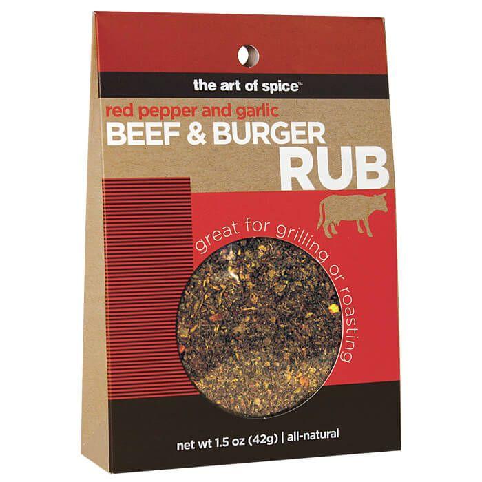 beef and burger rub