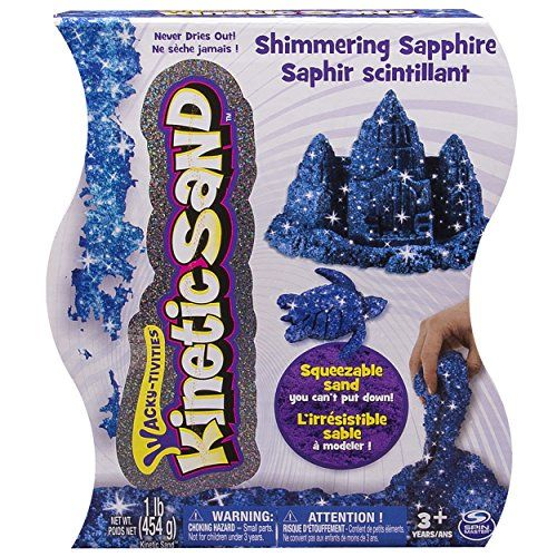 Kinetic Sand, 1lb Shimmering Blue Sapphire