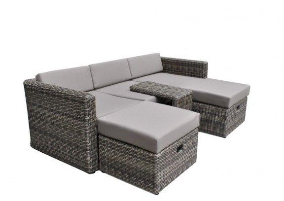 die besten 25 loungem bel rattan ideen auf pinterest gartenlounge rattan gartenmoebel rattan. Black Bedroom Furniture Sets. Home Design Ideas