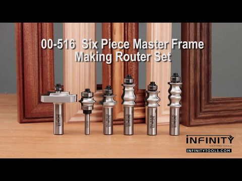 2 Easy Picture Frames With The Master Frame Making Router Bit Set