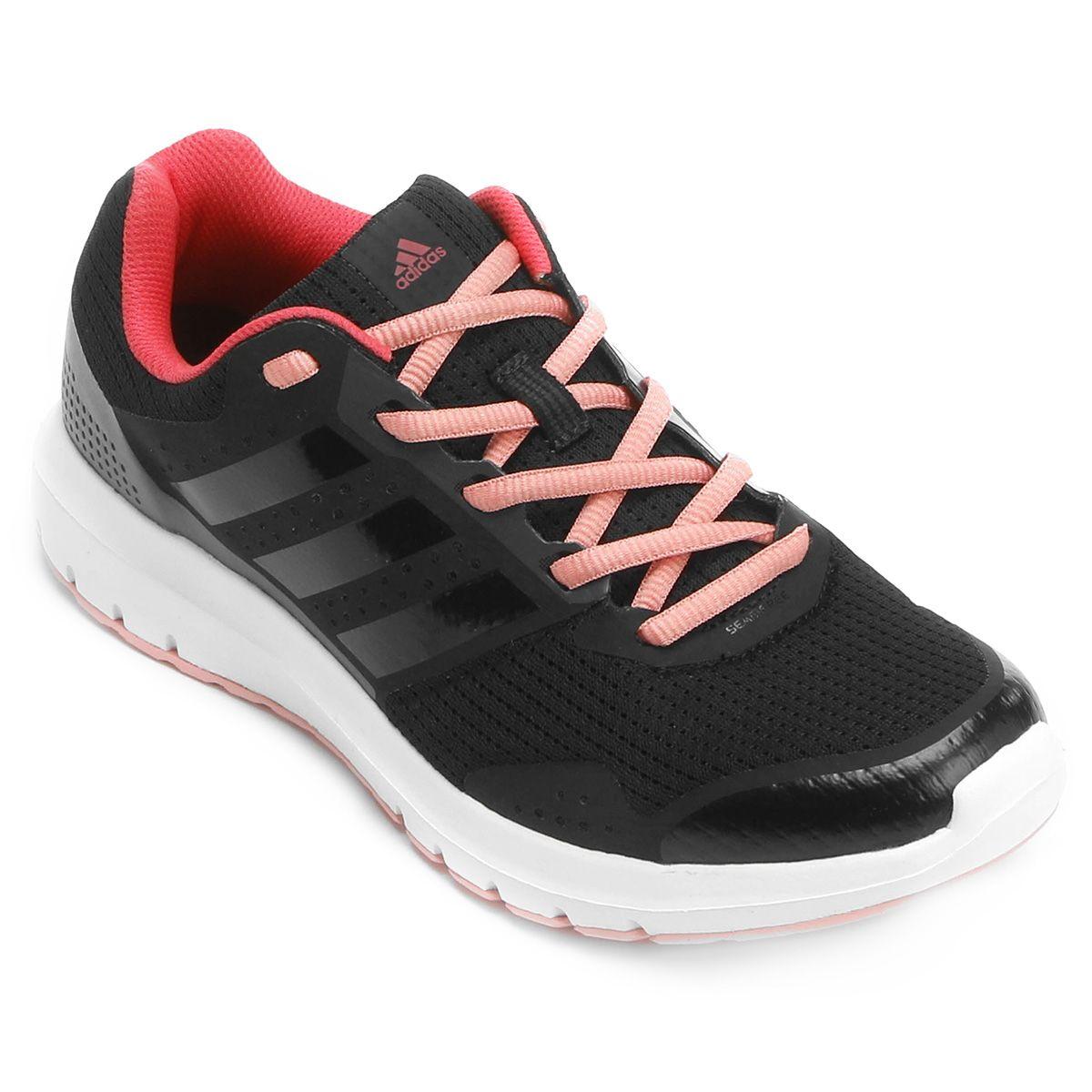 c10957a6e34 Tênis Adidas Duramo 7 Feminino Preto e Rosa