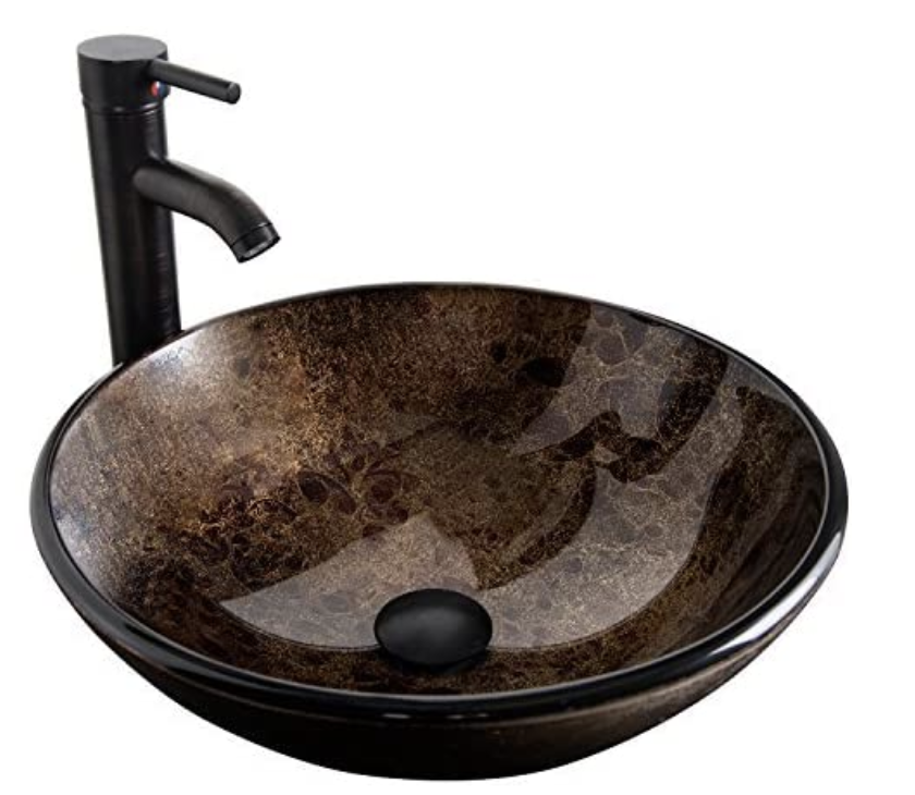The Best Bathroom Sinks You Should Buy For A Tiny House Thought Catalog Bathroom Vessel Sink With Faucet In 2020 Glass Basin Glass Bathroom Sink Glass Vessel Sinks