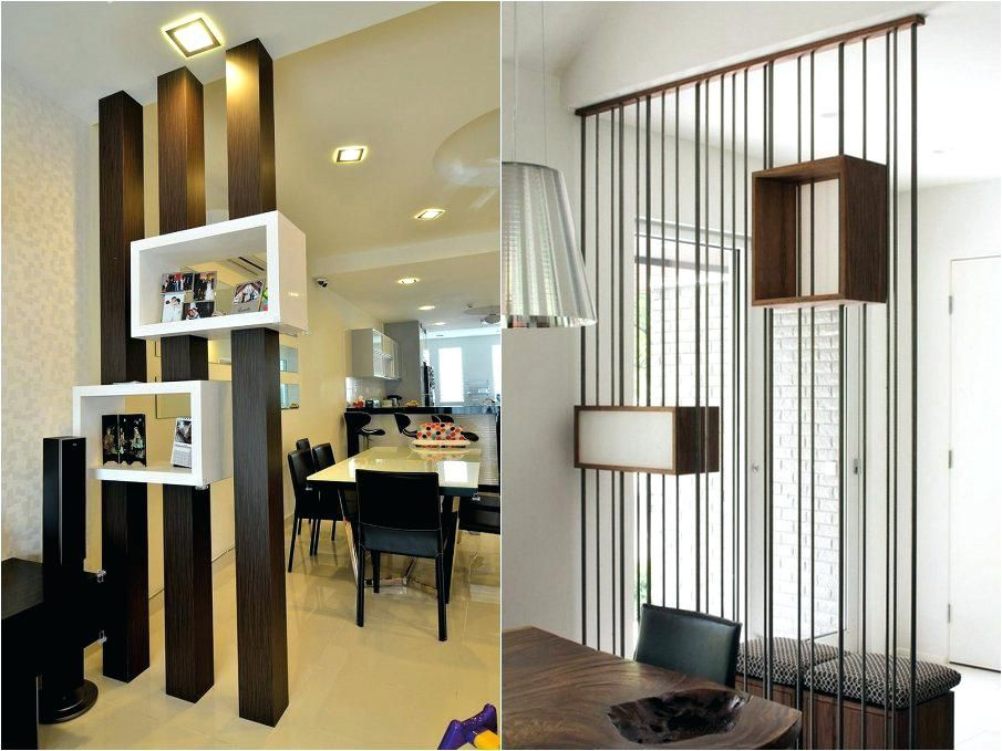 Partition Design For Living Room And Dining Hall Living Room