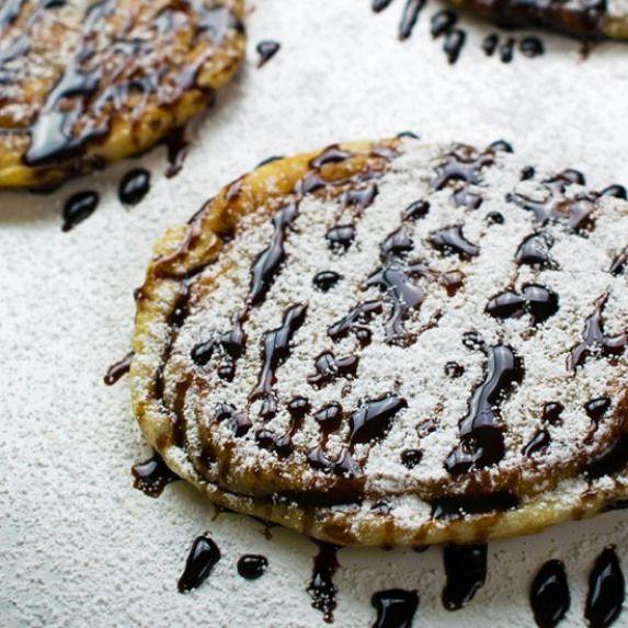 Sweet Korean Pancakes. Hoddeok Sweet Korean Pancakes with ... Hoddeok Sweet Korean Pancakes