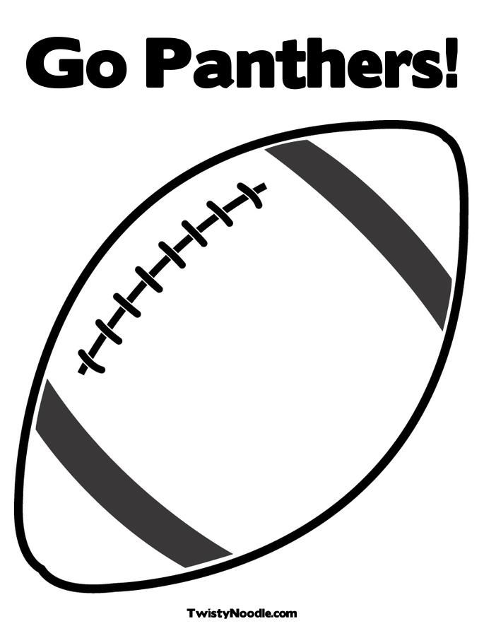 Carolina Panthers Coloring Page Football Coloring Pages Coloring Pages Clipart Black And White