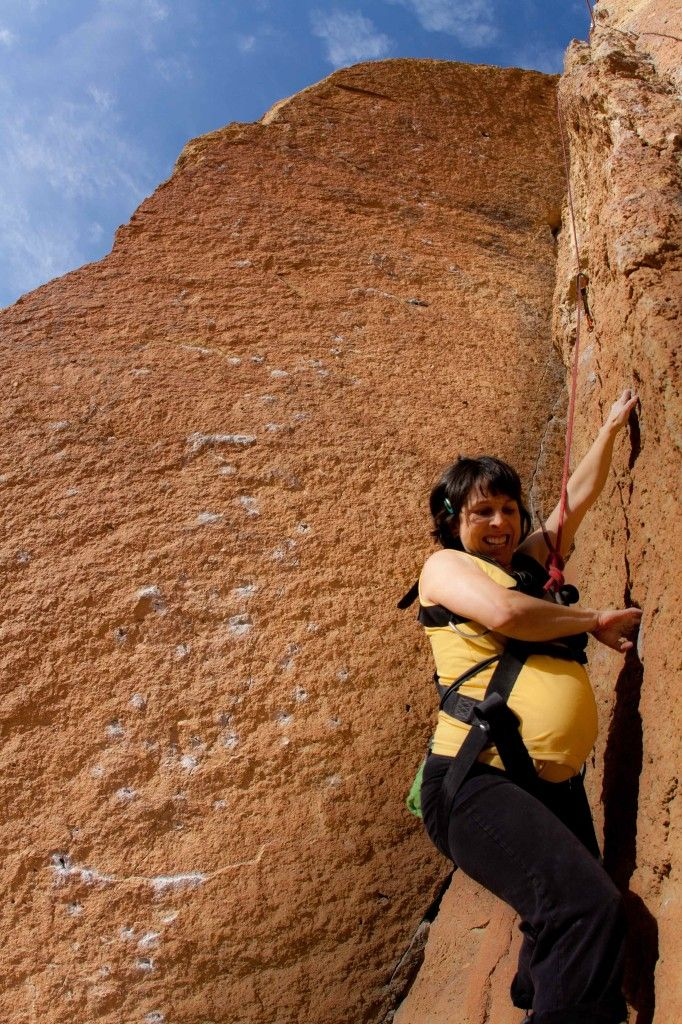 Post: Rock Climbing and #Pregnancy: What Changes to Expect