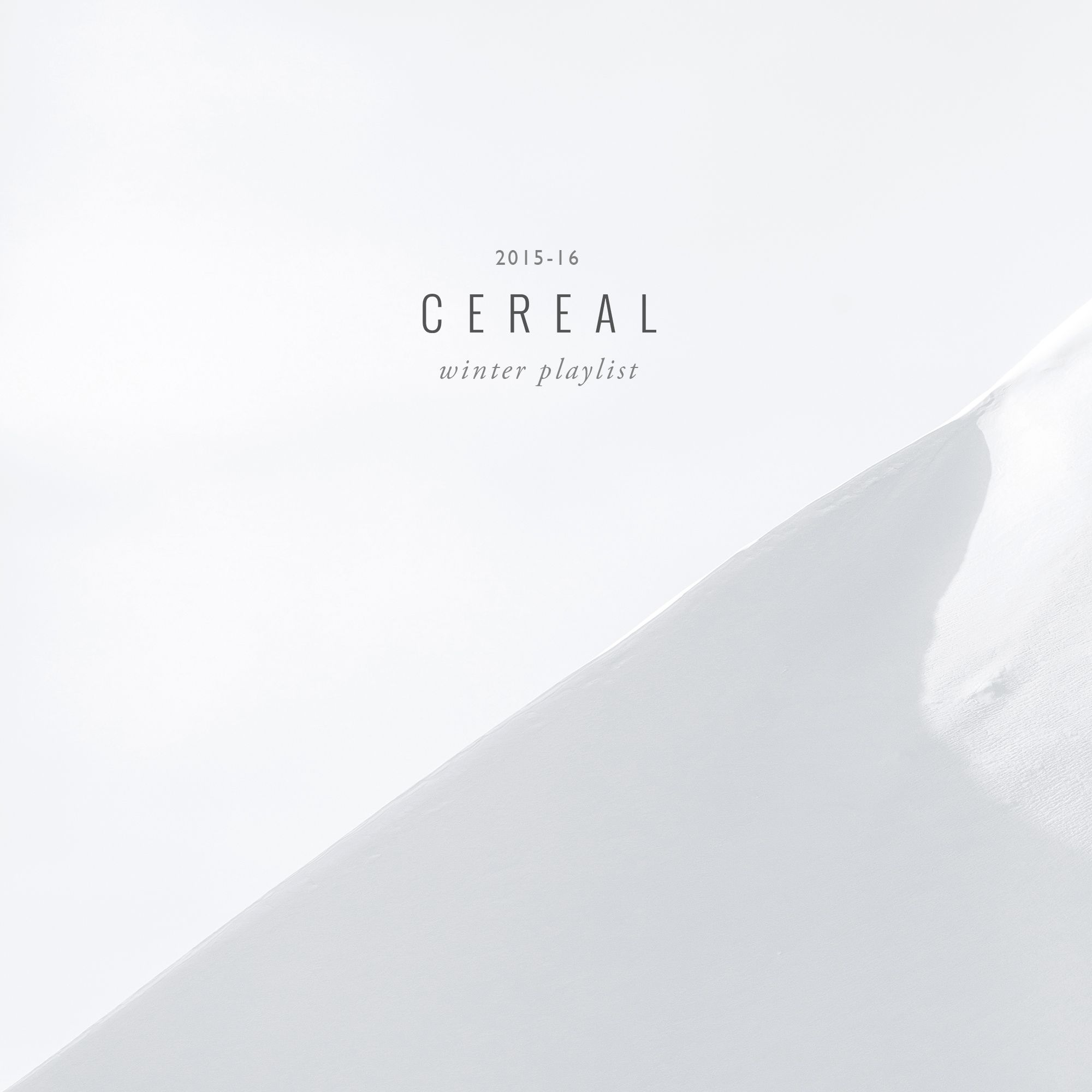 CEREAL MAGAZINE WINTER PLAYLIST | Editorial | Pinterest | Cereal ...