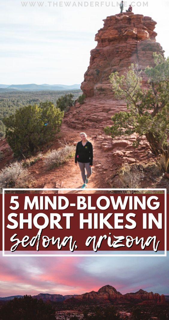 5 Fantastic Short Hikes in Sedona that'll Blow You