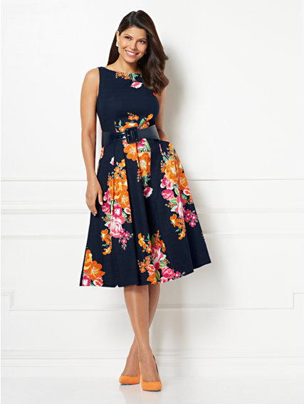 Felicity Fit And Flare Dress Eva Mendes Collection In