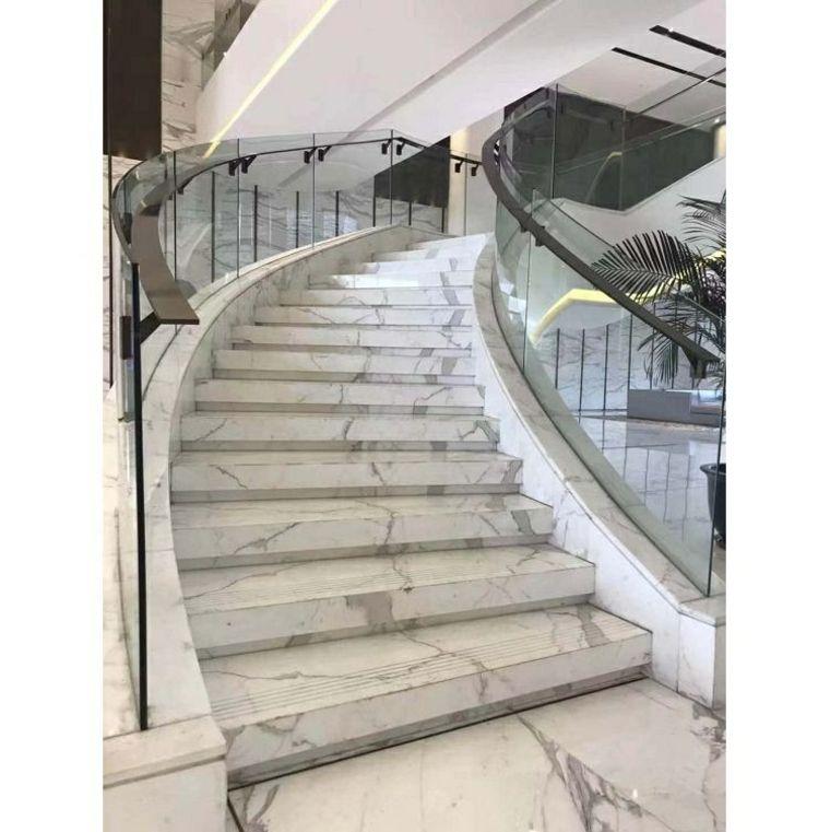 Escaleras De Marmol Blanco