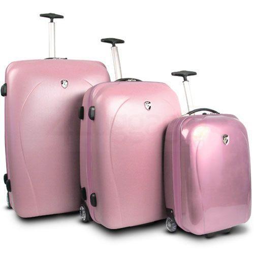light-pink-luggage-sets.jpg (500×500) | SUITCASE | Pinterest