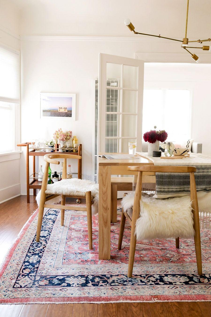 John Vogel Chairs From West Elm Sheepskin Create A