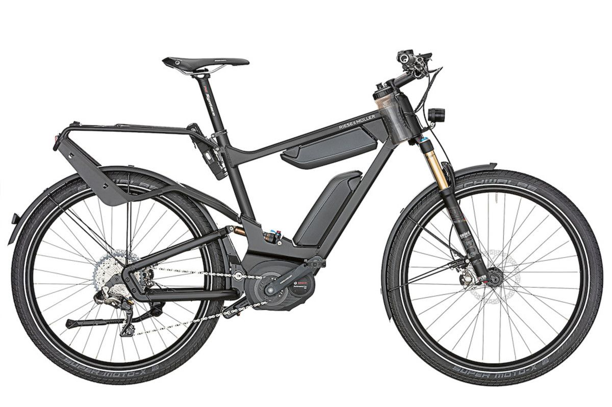 Riese Muller Releases A Flagship E Bike For Their 25th Anniversary Electric Bicycle Bike Bicycle