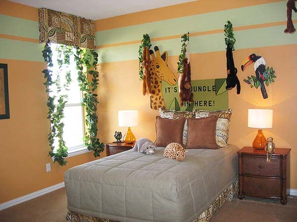 African Decorating Theme, 20 Kids Room Decorating Ideas | Room ...