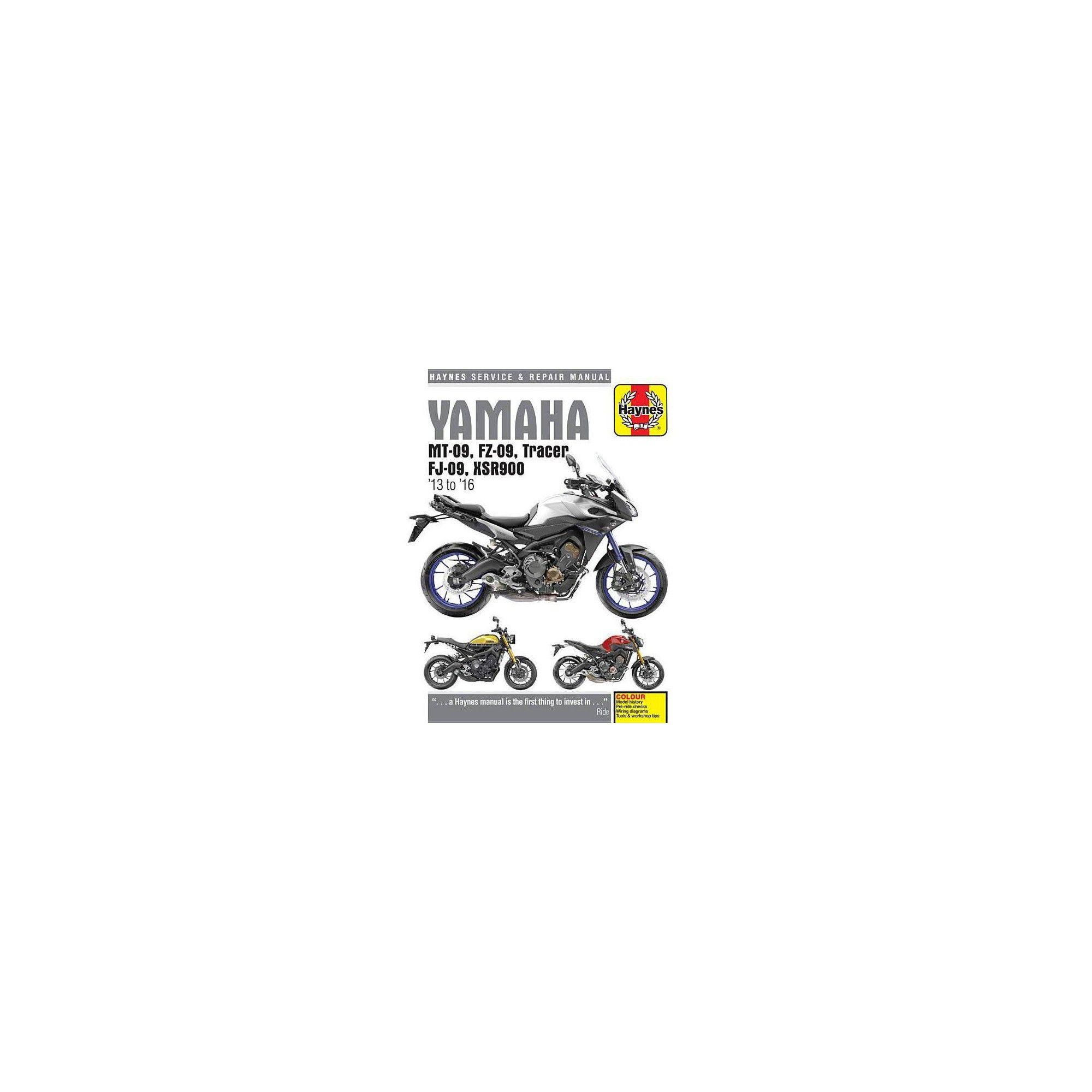 Yamaha Mt 09 Wiring Diagram