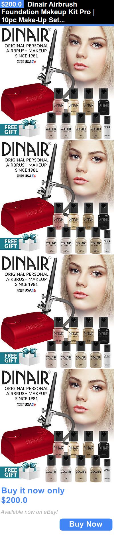 Makeup Sets and Kits Dinair Airbrush Foundation Makeup
