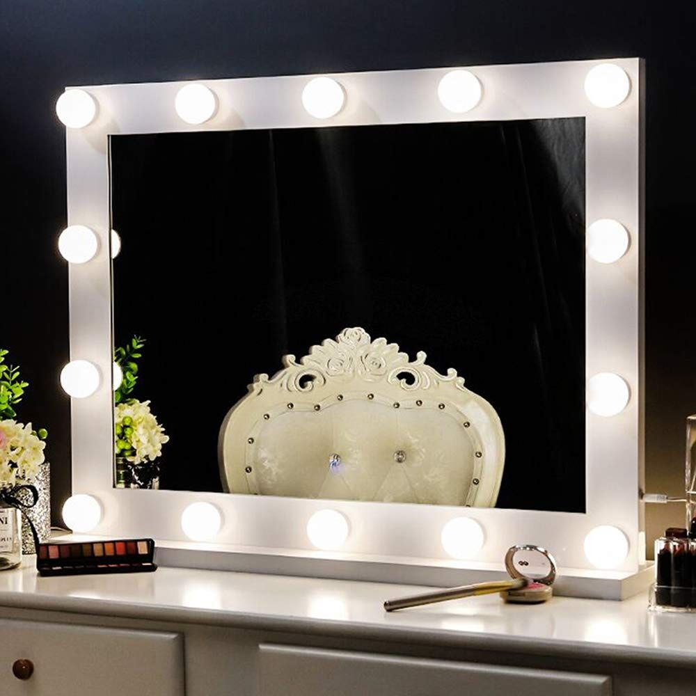 Chende Vanity Mirror With Lights For Wall Mounted Hollywood