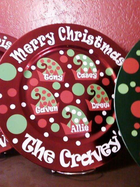 merry christmas from the family elves vinyl projects