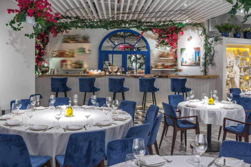 Opa Dubai Greek Style Interior Design With Images Luxury