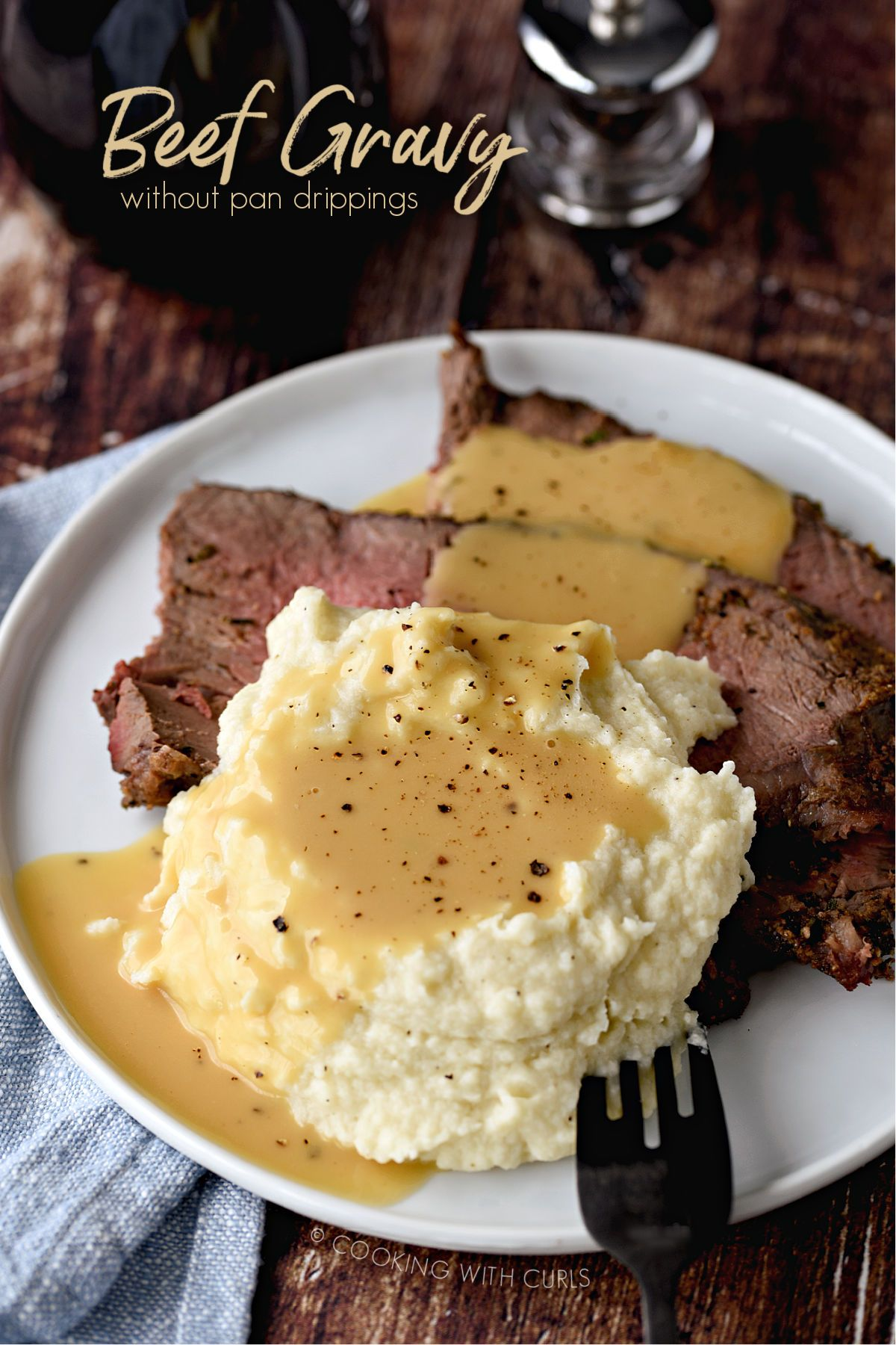 Beef Gravy Without Pan Drippings Recipe Beef Gravy Recipe Beef Gravy Beef Dripping