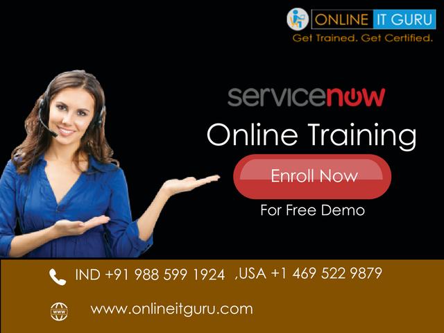 ServiceNow Online Training Hyderabad | ServiceNow Certification ...