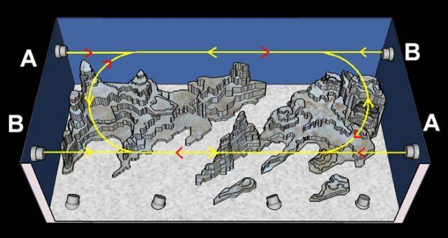 corner aquascape - Google Search | Reef tank aquascaping ...