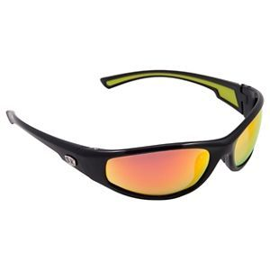 0c00c66309 Strike King Kulik SK Plus Polarized Sunglasses - Shiny Black Orange Revo  Mirror
