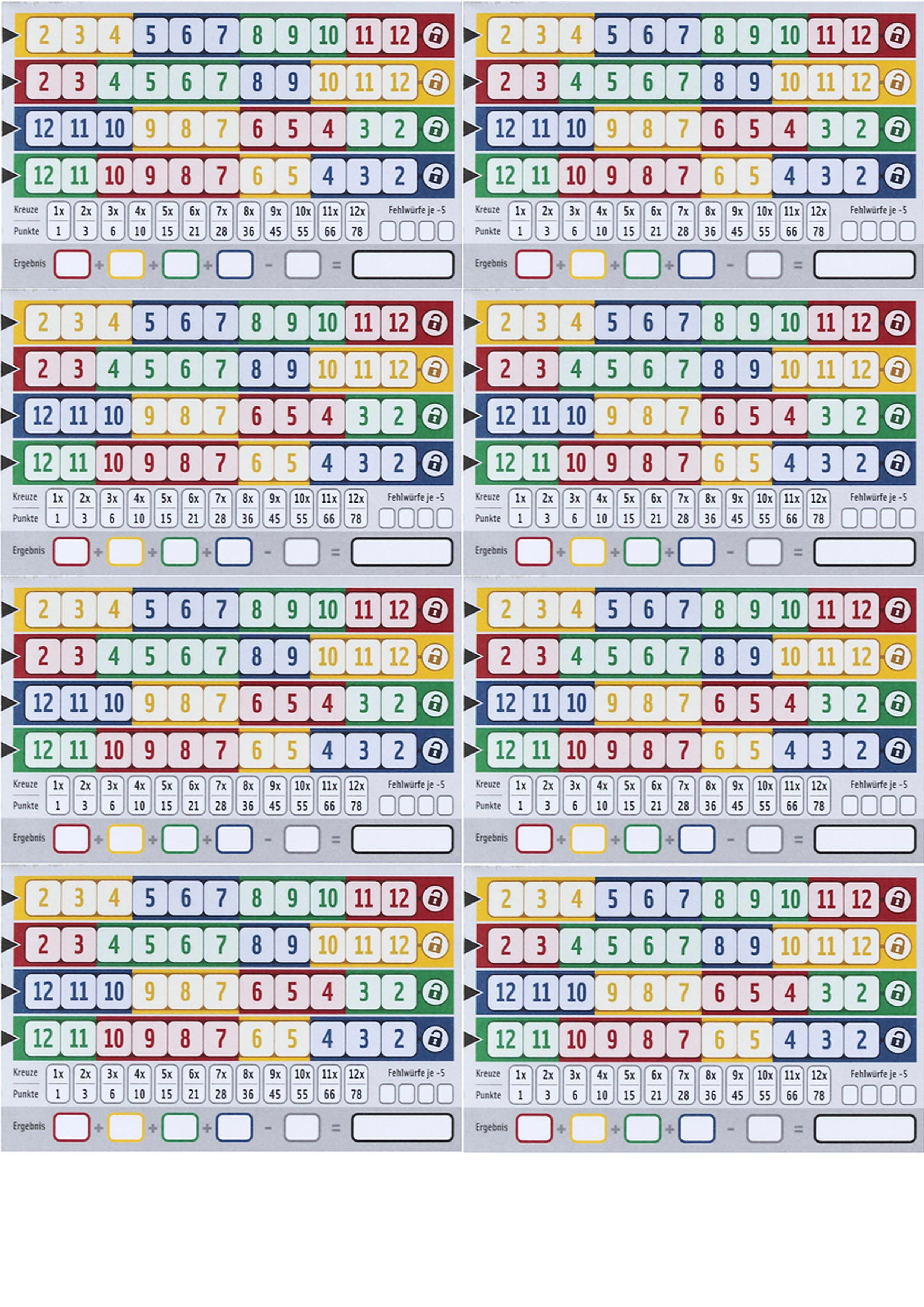 quixx score sheet printable Google Search in 2020 (With