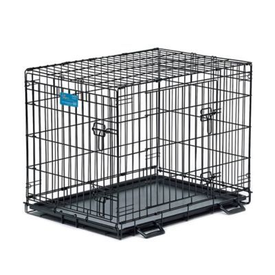 Midwest Life Stages 1630dd 2 Door Fold And Carry Crate With Divider