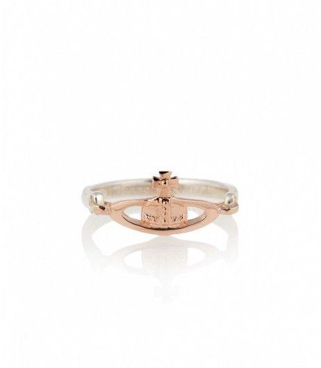 Gold · Vivienne Westwood Vendome Ring Pink Gold