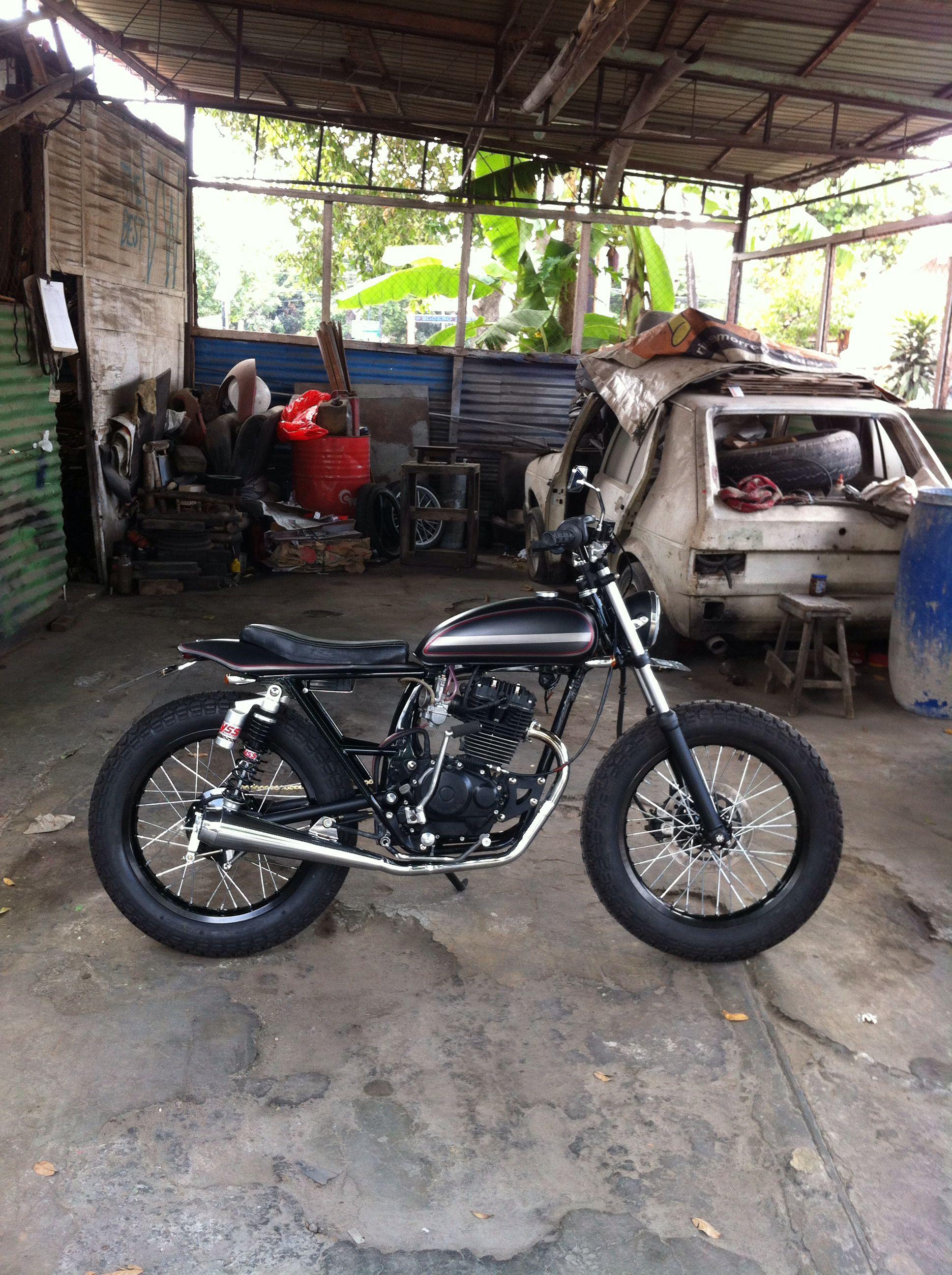 honda gl pro custom flat tracker | motorcycle | pinterest | flat