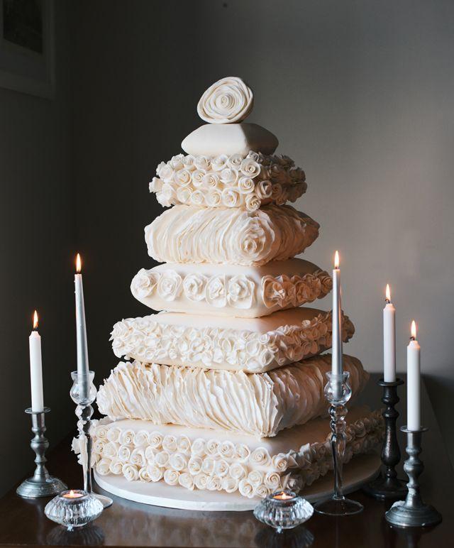 Wedding Cakes Inspired By China Patterns: Munaluchi's Most Beautiful Wedding Cakes