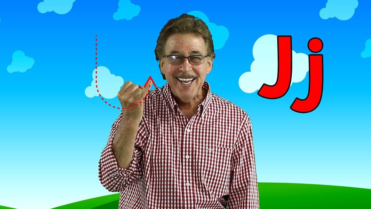 Letter J Sing and Learn the Letters of the Alphabet