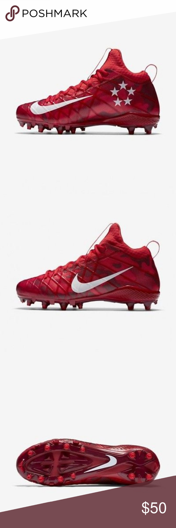 quality design 7c58e 107b6  NEW Nike Field General 3 Elite Men Football SZ 16 Nike Field General 3  Elite TD Men s Football Cleats 833390-610 MSRP  125 SIZE 16 833390-610 Nike  Alpha ...