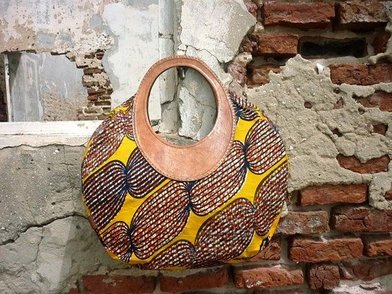 Bumak Bag by THEAFRICANSHOP on Etsy, African Print Outfits