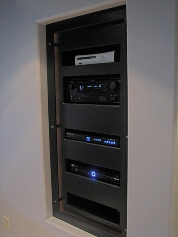 Home Theater Av Rack » Design And Ideas