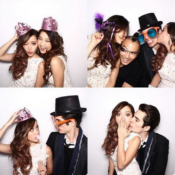 Michelle phan and dominique